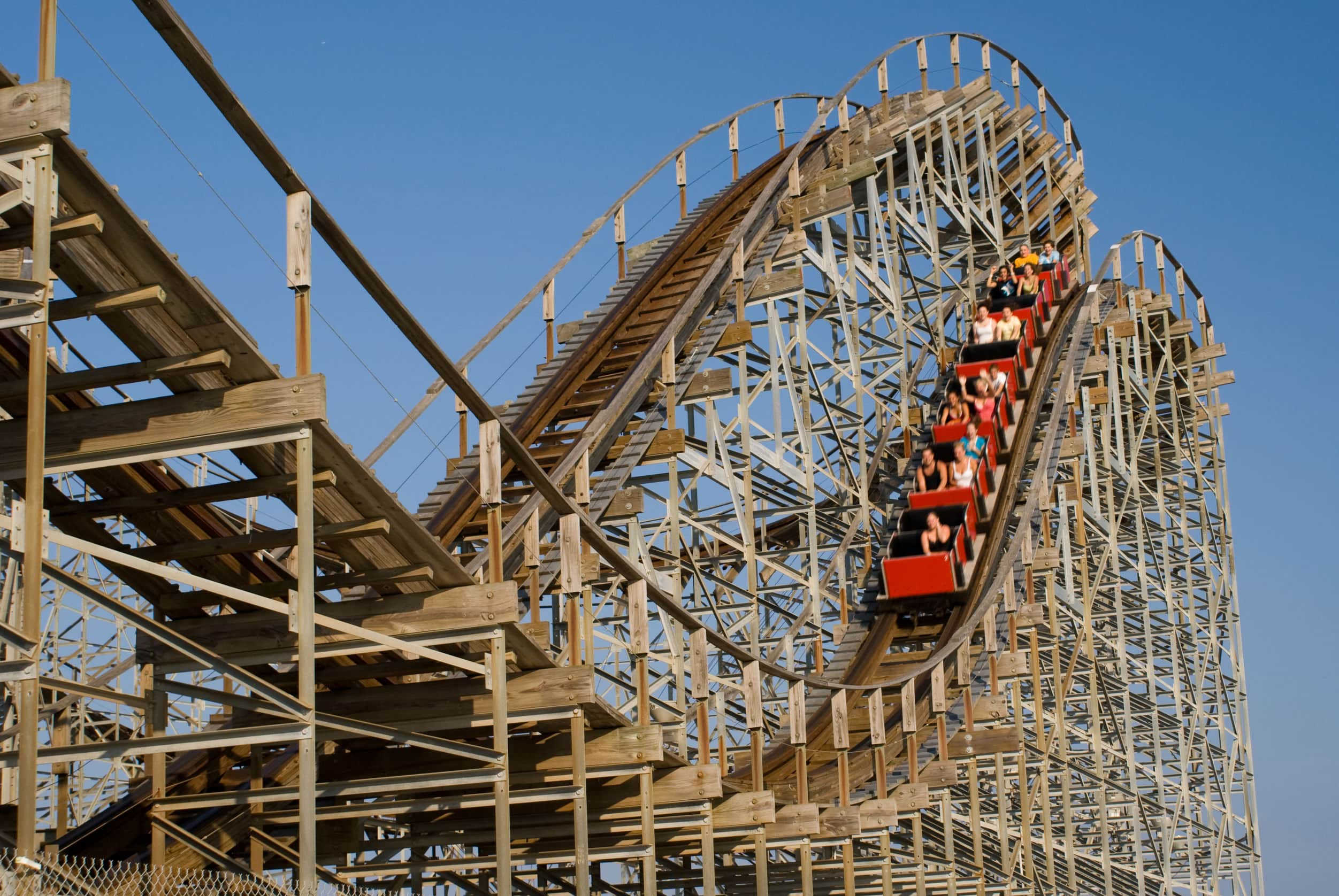 rollercoaster as metaphor for tight labor market